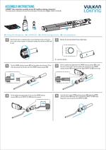 Vulkan Lokring Assembly Instructions - Montážní návod typ 00 s kapilárou