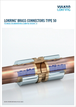 Vulkan Lokring LOKRING Brass Connectors type 50 - mosazné spojky